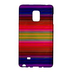 Fiesta Stripe Colorful Neon Background Galaxy Note Edge