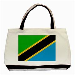 Flag Of Tanzania Basic Tote Bag by Amaryn4rt