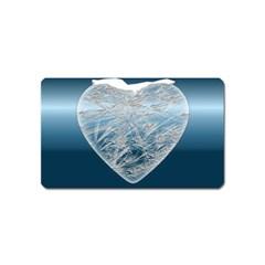 Frozen Heart Magnet (name Card)