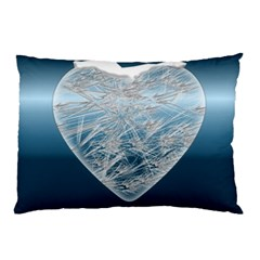 Frozen Heart Pillow Case by Amaryn4rt