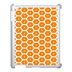 Golden Be Hive Pattern Apple Ipad 3/4 Case (white)