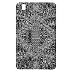 Gray Psychedelic Background Samsung Galaxy Tab Pro 8 4 Hardshell Case by Amaryn4rt