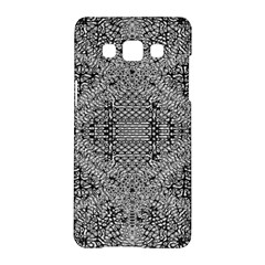 Gray Psychedelic Background Samsung Galaxy A5 Hardshell Case  by Amaryn4rt