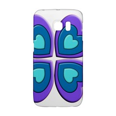 Light Blue Heart Images Galaxy S6 Edge