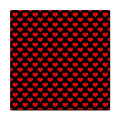 Love Pattern Hearts Background Face Towel by Amaryn4rt