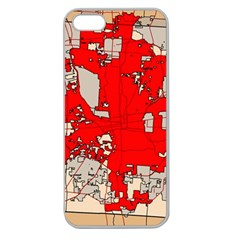 Map Of Franklin County Ohio Highlighting Columbus Apple Seamless Iphone 5 Case (clear)