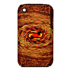 Orange Seamless Psychedelic Pattern Iphone 3s/3gs by Amaryn4rt