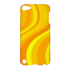 Orange Yellow Background Apple Ipod Touch 5 Hardshell Case