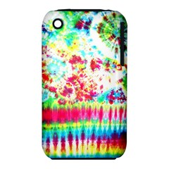 Pattern Decorated Schoolbus Tie Dye Iphone 3s/3gs by Amaryn4rt