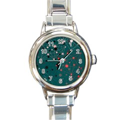 Pattern Seekers The Good The Bad And The Ugly Round Italian Charm Watch by Amaryn4rt