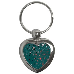 Pattern Seekers The Good The Bad And The Ugly Key Chains (heart)  by Amaryn4rt