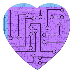Peripherals Jigsaw Puzzle (heart) by Amaryn4rt