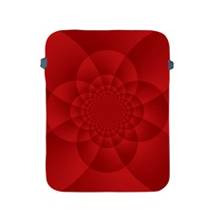 Psychedelic Art Red  Hi Tech Apple Ipad 2/3/4 Protective Soft Cases by Amaryn4rt