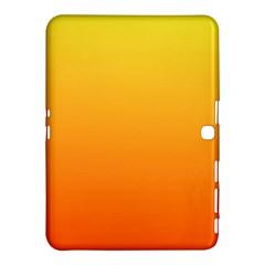 Rainbow Yellow Orange Background Samsung Galaxy Tab 4 (10 1 ) Hardshell Case