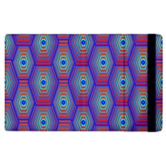 Red Blue Bee Hive Apple Ipad 2 Flip Case by Amaryn4rt