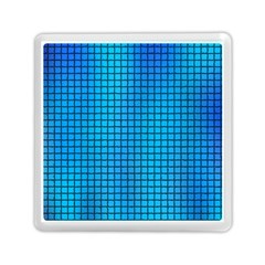 Seamless Blue Tiles Pattern Memory Card Reader (Square)  by Amaryn4rt