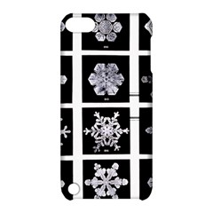 Snowflakes Exemplifies Emergence In A Physical System Apple Ipod Touch 5 Hardshell Case With Stand by Amaryn4rt