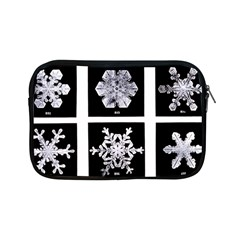 Snowflakes Exemplifies Emergence In A Physical System Apple Ipad Mini Zipper Cases by Amaryn4rt