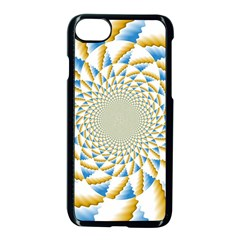 Tech Neon And Glow Backgrounds Psychedelic Art Psychedelic Art Apple Iphone 7 Seamless Case (black) by Amaryn4rt