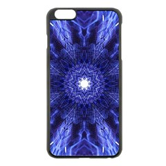 Tech Neon And Glow Backgrounds Psychedelic Art Apple Iphone 6 Plus/6s Plus Black Enamel Case by Amaryn4rt