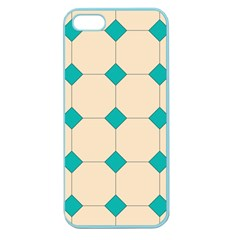 Tile Pattern Wallpaper Background Apple Seamless Iphone 5 Case (color) by Amaryn4rt