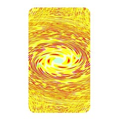 Yellow Seamless Psychedelic Pattern Memory Card Reader by Amaryn4rt