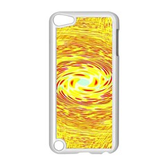 Yellow Seamless Psychedelic Pattern Apple Ipod Touch 5 Case (white) by Amaryn4rt