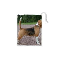 Beagle Full 2 Drawstring Pouches (XS)  by TailWags