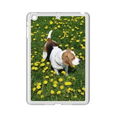 Beagle In Dandilions iPad Mini 2 Enamel Coated Cases by TailWags