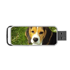 Beagle Puppy Portable USB Flash (Two Sides) by TailWags