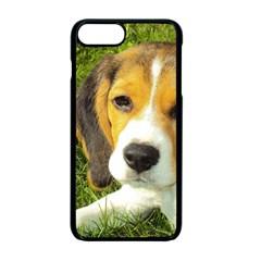 Beagle Puppy Apple iPhone 7 Plus Seamless Case (Black)