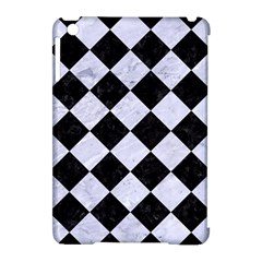 Square2 Black Marble & White Marble Apple Ipad Mini Hardshell Case (compatible With Smart Cover) by trendistuff