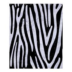 Skin4 Black Marble & White Marble (r) Shower Curtain 60  X 72  (medium) by trendistuff