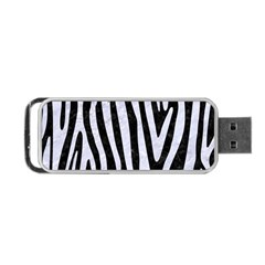 SKN4 BK-WH MARBLE (R) Portable USB Flash (Two Sides) by trendistuff