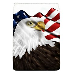 American Eagle Flag Sticker Symbol Of The Americans Flap Covers (L)  by Onesevenart
