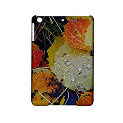 Autumn Rain Yellow Leaves Ipad Mini 2 Hardshell Cases by Onesevenart