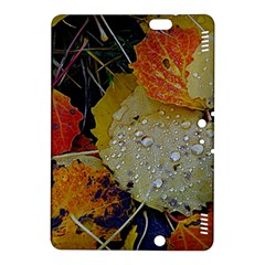 Autumn Rain Yellow Leaves Kindle Fire Hdx 8 9  Hardshell Case by Onesevenart
