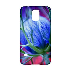 Blue Flowers With Thorns Samsung Galaxy S5 Hardshell Case  by Onesevenart