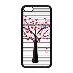 Love Tree Apple Iphone 5c Seamless Case (black) by Valentinaart