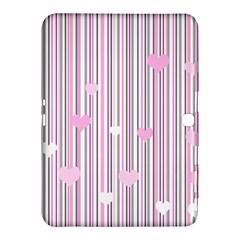 Pink Love Samsung Galaxy Tab 4 (10 1 ) Hardshell Case  by Valentinaart
