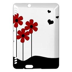 Flowers Kindle Fire Hdx Hardshell Case