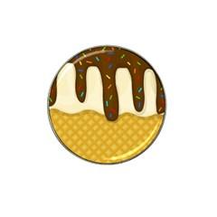 Ice Cream Zoom Hat Clip Ball Marker by Valentinaart