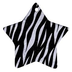 Skin3 Black Marble & White Marble Ornament (star) by trendistuff