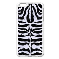 Skin2 Black Marble & White Marble Apple Iphone 6 Plus/6s Plus Enamel White Case by trendistuff