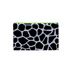 Skin1 Black Marble & White Marble (r) Cosmetic Bag (xs) by trendistuff