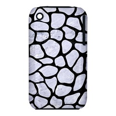 Skin1 Black Marble & White Marble Apple Iphone 3g/3gs Hardshell Case (pc+silicone) by trendistuff