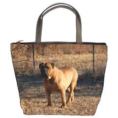 Bullmastiff Full Bucket Bags by TailWags