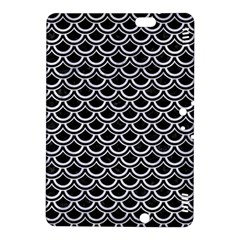 Scales2 Black Marble & White Marble Kindle Fire Hdx 8 9  Hardshell Case by trendistuff