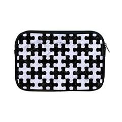 Puzzle1 Black Marble & White Marble Apple Ipad Mini Zipper Case by trendistuff