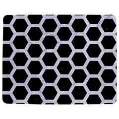 Hexagon2 Black Marble & White Marble Jigsaw Puzzle Photo Stand (rectangular) by trendistuff